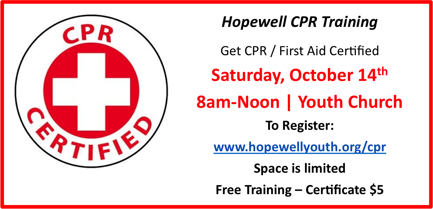 CPR Training - Fall 2017a