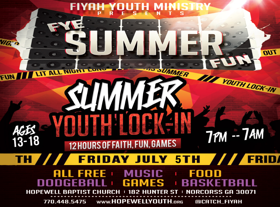 flyer - summer lockin